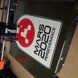 Download free 3D printer files Mars 2020 Perseverance plaque, Hazendonk