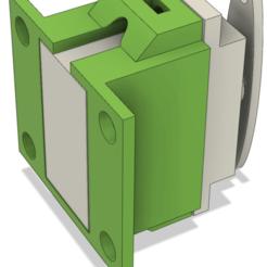 Imprimir en 3D gratis El soporte del servomotor FS90, ArnaudS