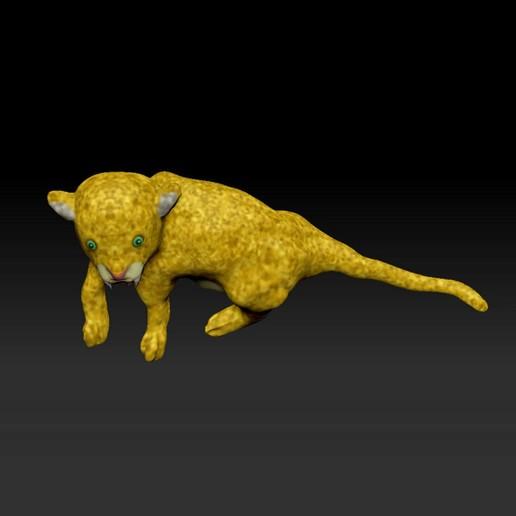 LEAPARD2.jpg Télécharger fichier STL gratuit Un LEOPARD attend pour chasser • Plan pour imprimante 3D, guys347