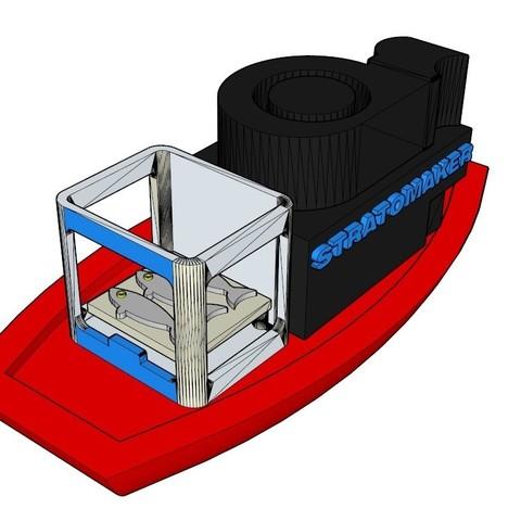 Diseños 3D gratis Barco de pesca STRATOMAKER, guys347