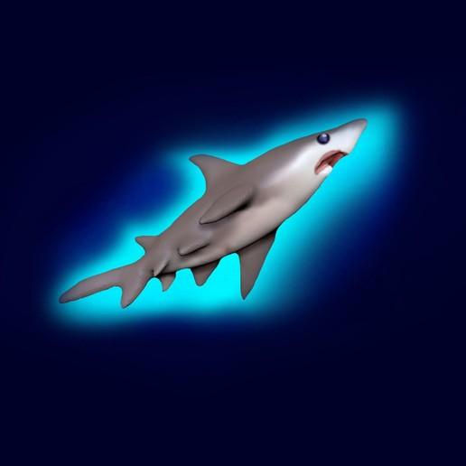 Télécharger modèle 3D gratuit Requin affamé, guys347