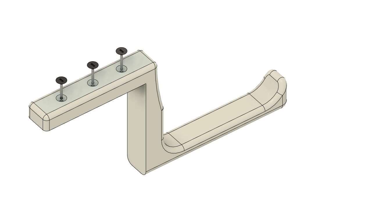Soporte_Escalera v3.png Télécharger fichier STL gratuit Support d'escalier, support d'échelle • Objet pour imprimante 3D, santravis