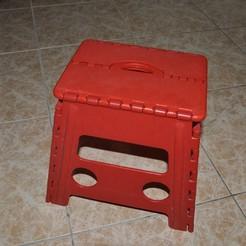Impresiones 3D gratis Colgador para Taburete plegable. Hanger for folding stool., santravis