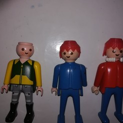 Free STL file Playmobil Hair, Abahli