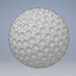 Download free STL file Golf Ball, Jorony