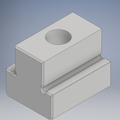 Bri.jpg Download STL file Flange T table grooved plate M6 • 3D printer object, Jorony
