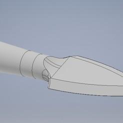 Download 3D printer templates Qiang lance blade, Jorony