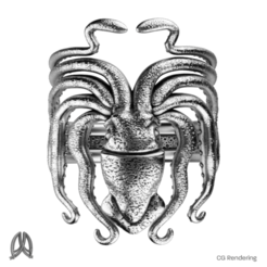 Download 3D printing files Squid Ring, Double_Alfa_Jewelry