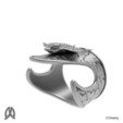 Download 3D printing models Eagleray Thumb Ring, Double_Alfa_Jewelry