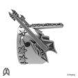 Electric Guitar Ring Right View.jpg Download STL file Guitar Thumb Ring • 3D printer object, Double_Alfa_Jewelry