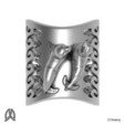 Archivos STL Anillo del pulgar de las focas, Double_Alfa