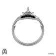 Orca Ring Front View.jpg Download STL file Orca Whale Thumb Ring • Template to 3D print, Double_Alfa_Jewelry