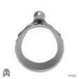 Archivo STL Pulpo pulgar anillo, Double_Alfa