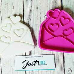 """WhatsApp Image 2021-01-11 at 9.15.34 AM (4).jpeg Download STL file Valentine's Day """"Heart Letter"""" • 3D printing model, FloR"""
