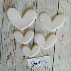 WhatsApp Image 2021-01-11 at 9.16.31 AM.jpeg Download STL file Valentine's Day Set Hearts • 3D print design, FloR