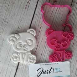 Download 3D printing models Panda bear // Panda bear, floreyes80
