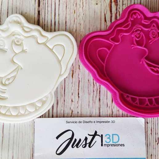 Download 3D printing files Mrs. Potts, floreyes80