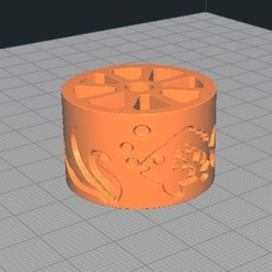 Download 3D printer model TEXTURED ROLL FISH, PsychoNomad17
