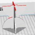 Screen Shot 2018-02-05 at 3.13.38 PM.png Download free STL file Stratomaker Rocket Mascot • 3D print model, cmcdow