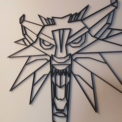 20200920_171604.jpg Download free OBJ file The Witcher - WOLF • 3D printable design, Floriane