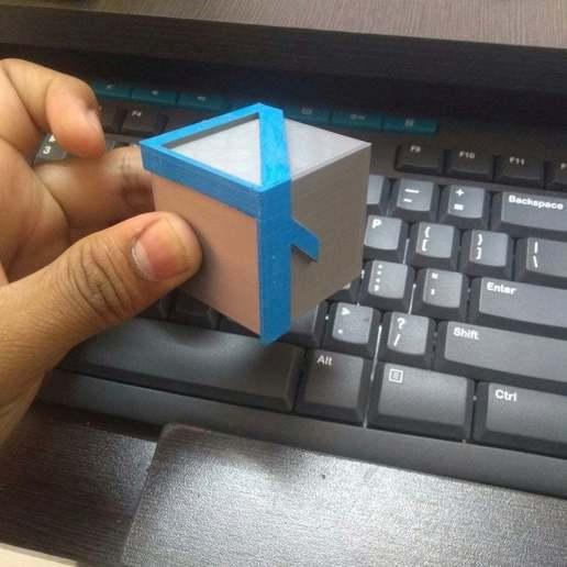Download free 3D printer model Illusion 4 Cube, prasadc