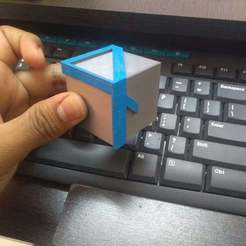 Download free 3D printer model Illusion 4 Cube, prasadc