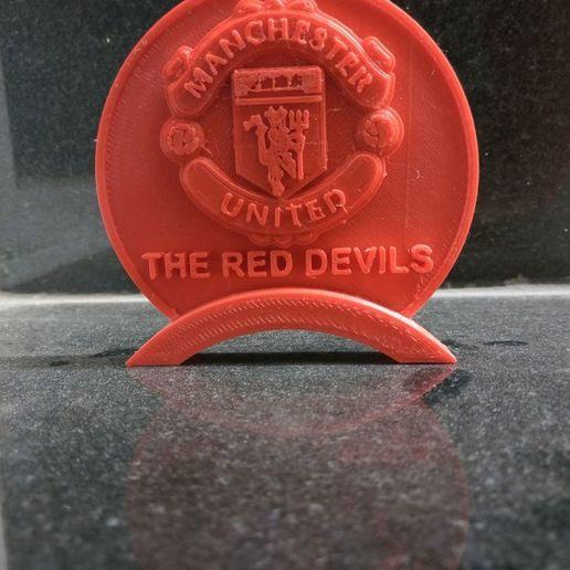 Télécharger objet 3D gratuit Manchester United Table Stand, prasadc