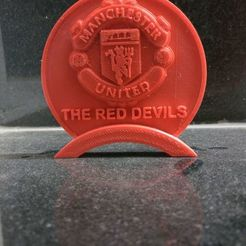 Download free 3D printer templates Manchester United Table Stand, prasadc
