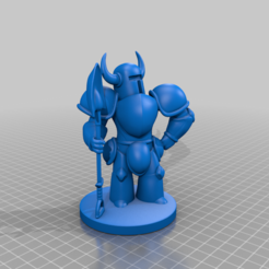 Download free 3D printer designs Shovel Knight - Repaired, prasadc