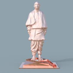 Download STL Statue Of Unity With Base - Sardar Vallabhbhai Patel, prasadc
