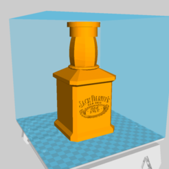 Descargar modelos 3D gratis Chicha Jack Daniel's, BaptisteBldl