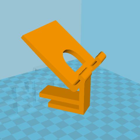 Capture 2.PNG Download free STL file Phone Support • 3D printable model, BaptisteBldl