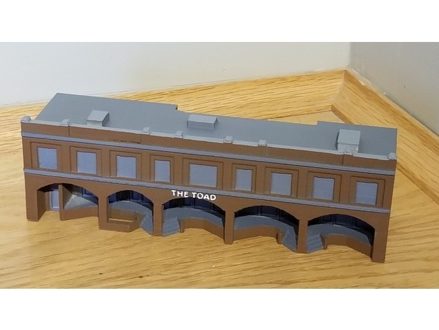 9103468173ecf5873161922d7ddad1a9_preview_featured.jpg Download free STL file N-Scale Building #5 (set) • 3D printing model, MFouillard