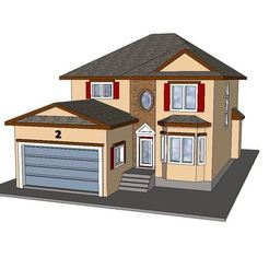 Archivos STL PREMIUM N Scale Suburban Home #1, MFouillard