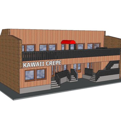 3D print files PREMIUM N Scale Building #8, MFouillard