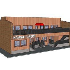 Download 3D model PREMIUM N Scale Building #8, MFouillard