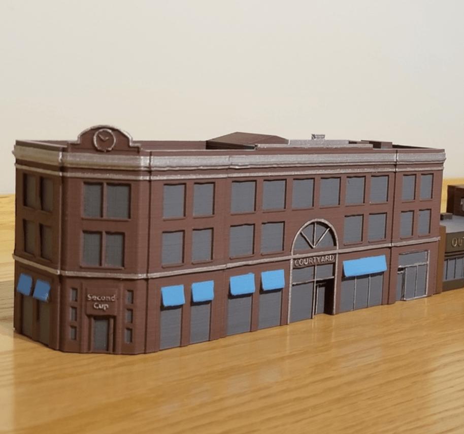 Capture d'écran 2018-02-08 à 10.21.48.png Download free STL file N-Scale Building #1 (set) • 3D printable object, MFouillard