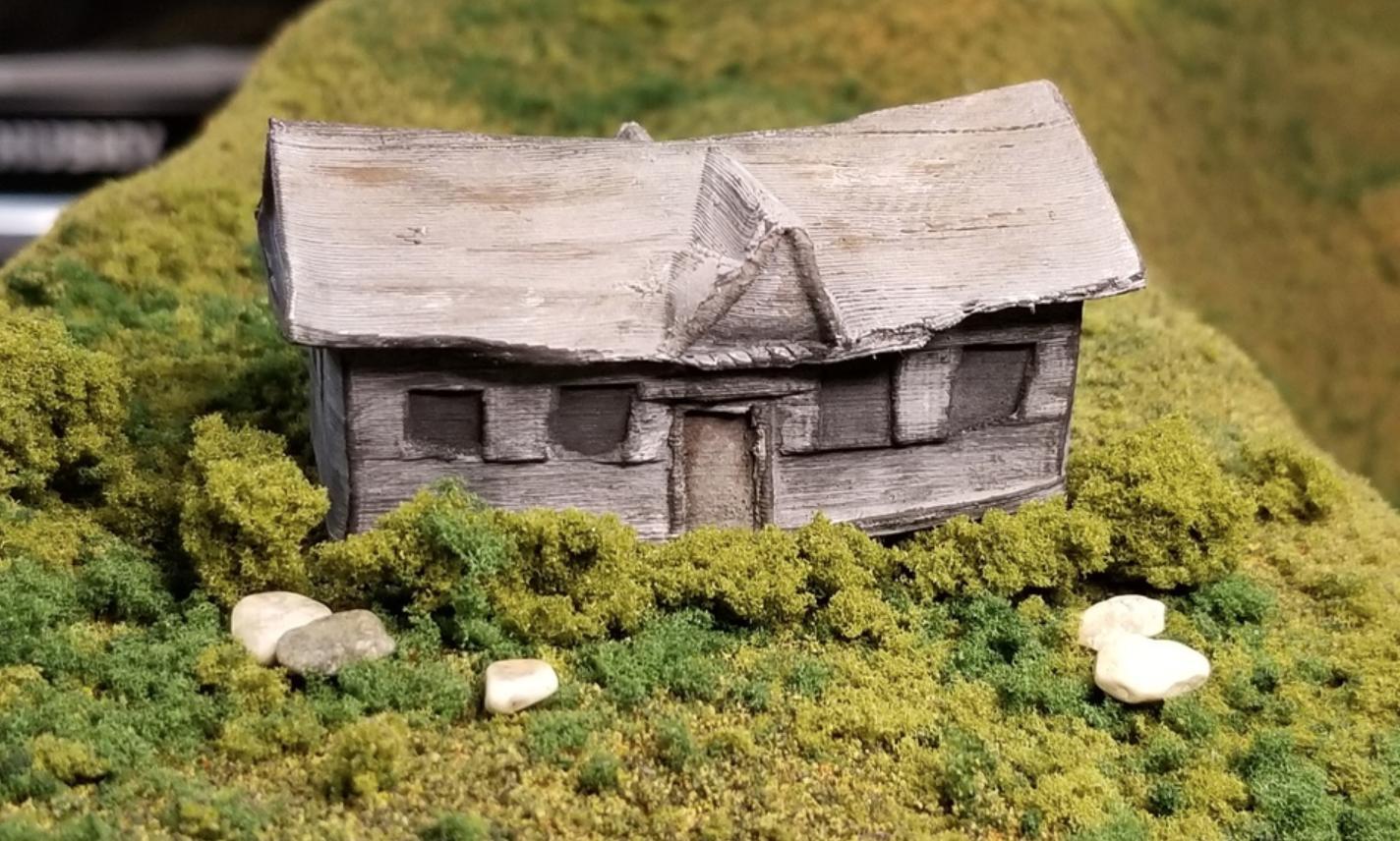 Capture d'écran 2018-02-08 à 10.41.40.png Download free STL file Abandoned House (N-Scale) • Model to 3D print, MFouillard