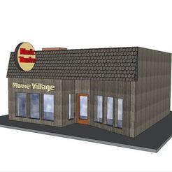 Download 3D printing designs PREMIUM N Scale Building #7, MFouillard