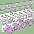 Download 3D printing templates PREMIUM N-Scale Building #5, MFouillard