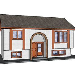 Diseños 3D PREMIUM N Scale Página de inicio de dos niveles, MFouillard