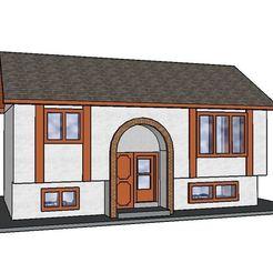 3D print files PREMIUM N Scale Bi-Level Home, MFouillard