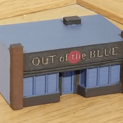 Download free STL files N-Scale Building #2 (set), MFouillard