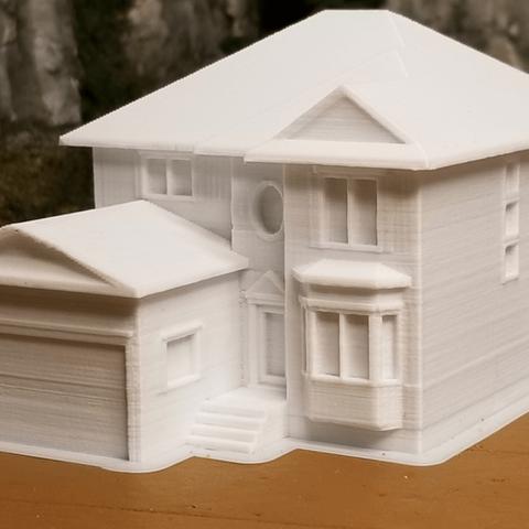 Capture d'écran 2018-02-08 à 10.46.12.png Download free STL file My Suburban House (N-Scale) • 3D printer object, MFouillard