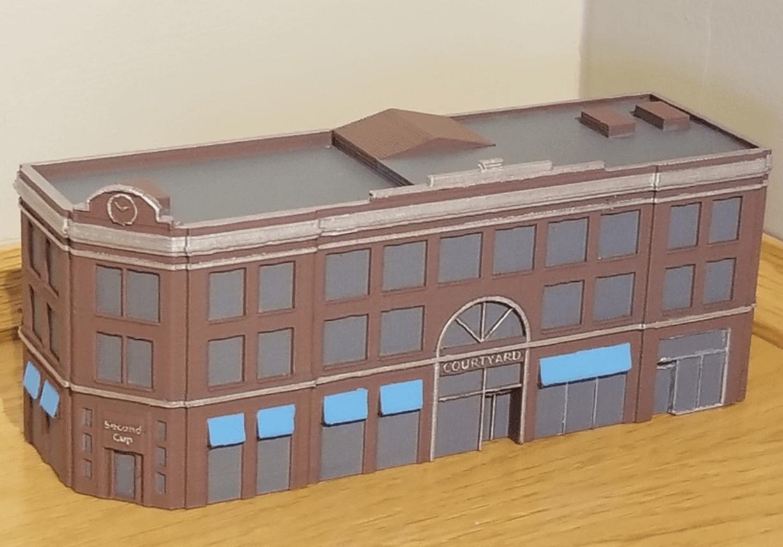 Capture d'écran 2018-02-08 à 10.21.10.png Download free STL file N-Scale Building #1 (set) • 3D printable object, MFouillard