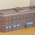 Free 3D printer model N-Scale Building #1 (set), MFouillard