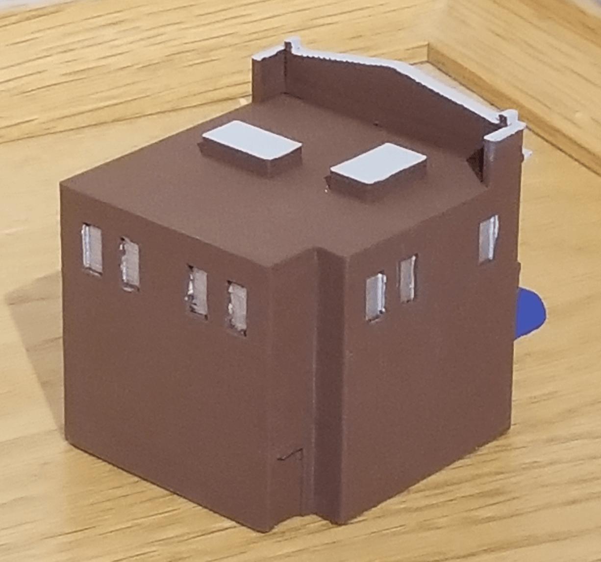 Capture d'écran 2018-02-08 à 10.27.39.png Download free STL file N-Scale Building #3 (set) • 3D print model, MFouillard