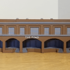 Free 3d print files N-Scale Building #5 (set), MFouillard