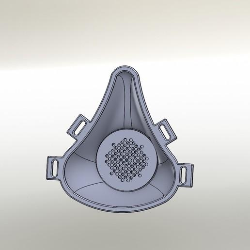 Descargar archivos STL gratis Máscara protectora COVID-19, rodetcel