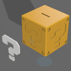 mario_box v2.png Download STL file Mario Box Bank • 3D print design, mattlamachado